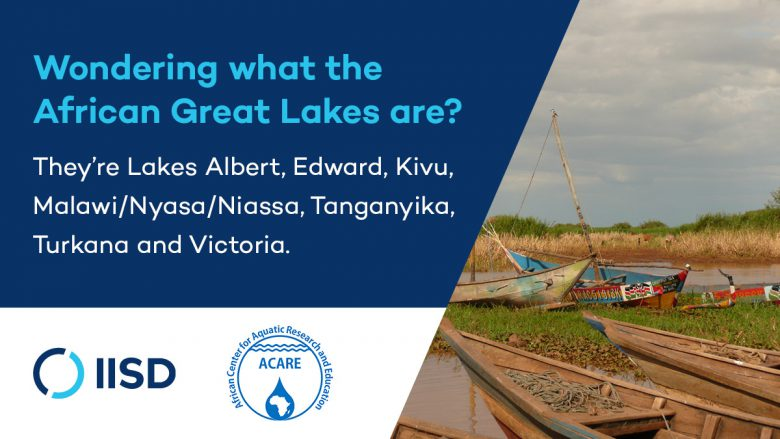 List of the African Great Lakes