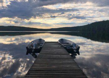 Morning on Lake 239 by Heather Hinam