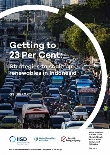 Getting to 23 Per Cent: Strategies to scale up renewables in Indonesia