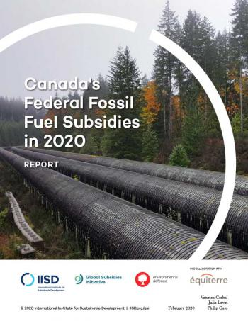 Canada's Federal Fossil Fuel Subsidies in 2020
