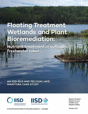 Floating Treatment Wetlands and Plant Bioremediation: Nutrient treatment in eutrophic freshwater lakes