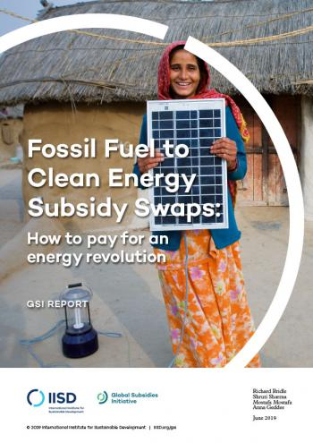 Fossil Fuel to Clean Energy Subsidy Swaps: How to pay for an energy revolution