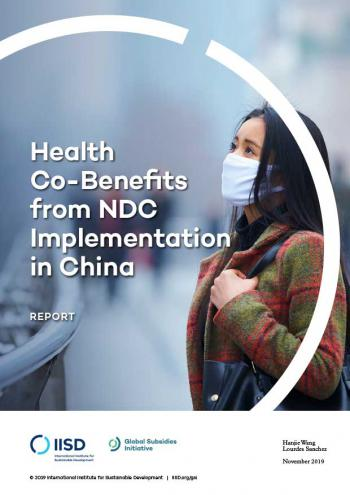 Health Co-Benefits from NDC Implementation in China