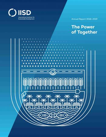 The Power of Together: IISD Annual Report 2018-2019