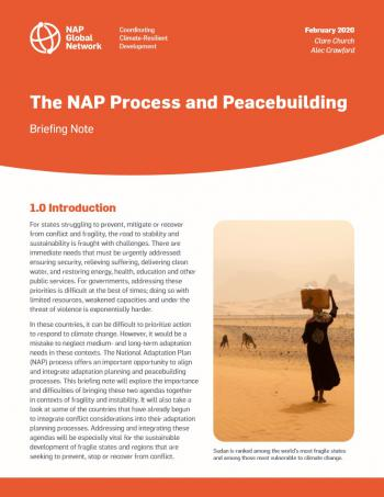 The NAP Process and Peacebuilding