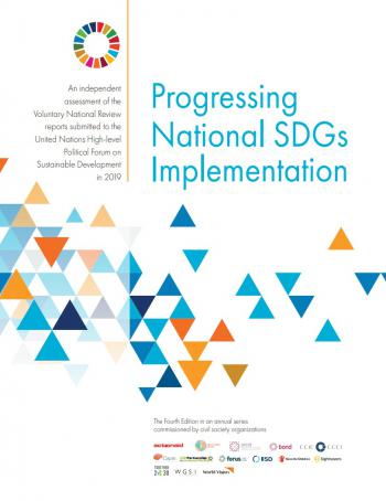 Progressing National SDGs Implementation: An Independent Assessment of the Voluntary National Review Reports Submitted to the United Nations High-level Political Forum on Sustainable Development in 2019