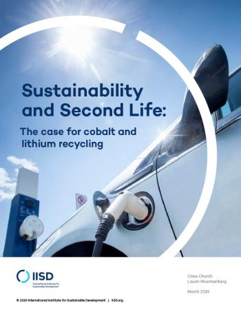 Sustainability and Second Life: The case for cobalt and lithium recycling