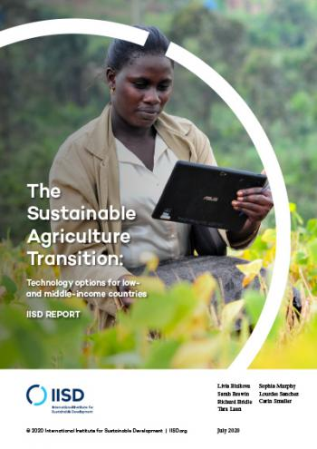 The Sustainable Agriculture Transition: Technology options for low- and middle-income countries