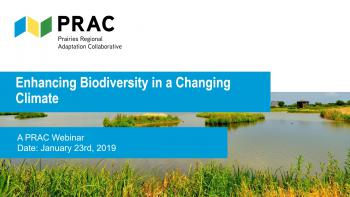 Enhancing Biodiversity in a Changing Climate | A PRAC webinar