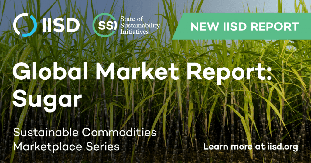 global market report cover for sugar